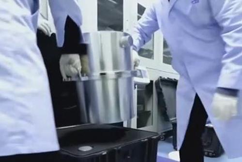 嫦娥五号任务月球样品交接