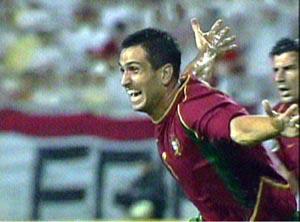 葡萄牙射手保莱塔上演帽子戏法