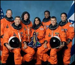 哥伦比亚号航天飞机的机组人员
