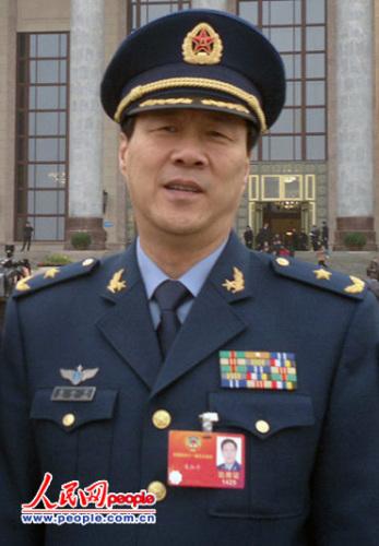 朱和平委员。人民网记者 孝金波摄