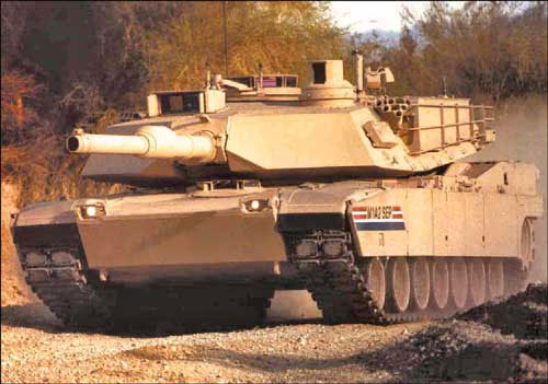 升级版M1A2坦克及步兵战车交付美军第1步兵师