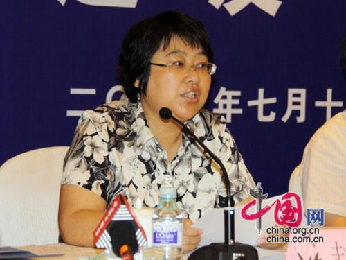 卫生部政法司副司长赵宁