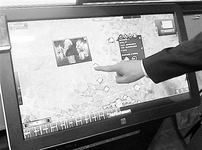 美国aai公司为战地指挥设计的巨型平板电脑