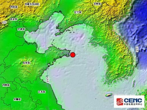 山东威海荣成附近海域发生3.1级地震-中新网