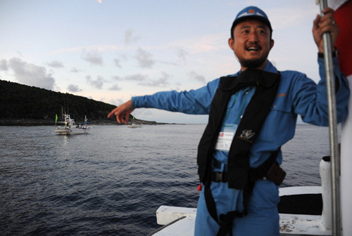 评论称日本右翼吞下的每寸中国领土都得吐出来