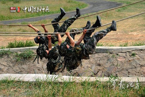 美媒:中国特种部队借海外受训学美军实战经验
