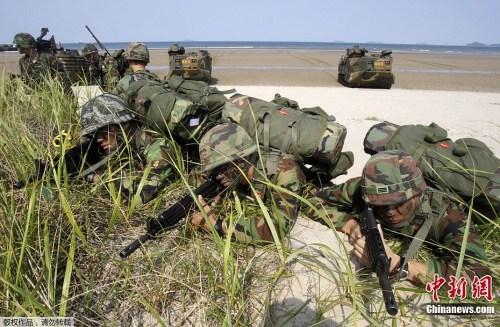 韩国军警7日起实施韩日争议岛屿防御联合训练(5)