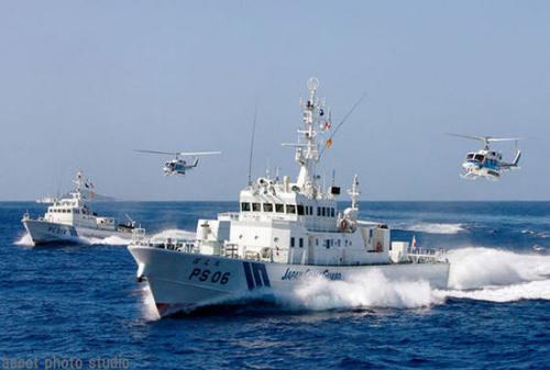 日本增派巡逻船和直升机强化钓鱼岛海域警备(2)