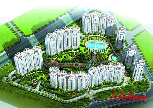 杭州市钱江新城规划图-城市主政者反思 如何合理规划城市以防内涝