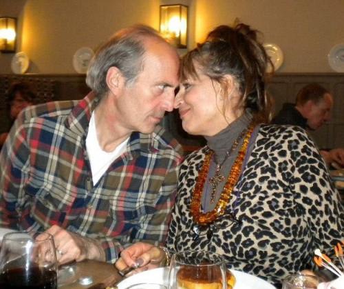 林羅斯與妻子塔姆的合影。
