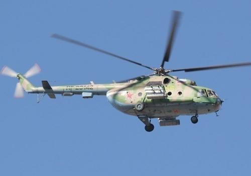 俄罗斯一架米-8直升机在迫降时坠毁(图)(6)-中新网