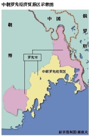 朝鲜沿海港口分布图