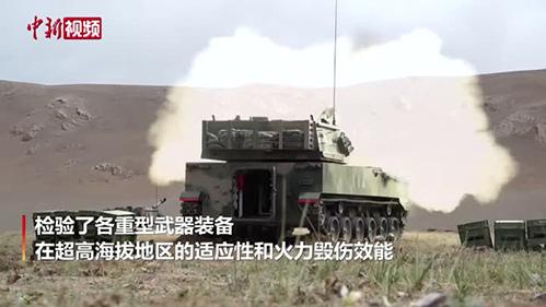 西藏:海拔5000米的军事演练 超震撼