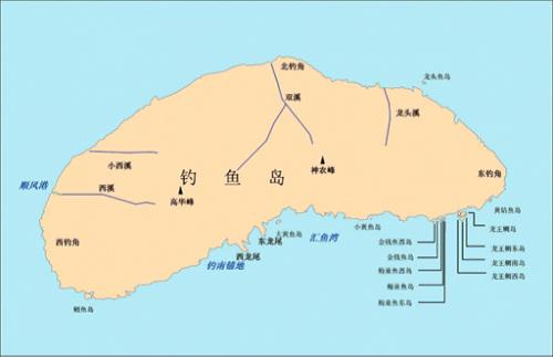中国海洋领土地图