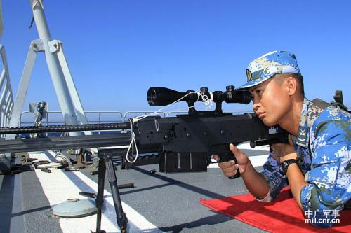 中国 狙击步枪/中国海军特战队员试用M99狙击步枪