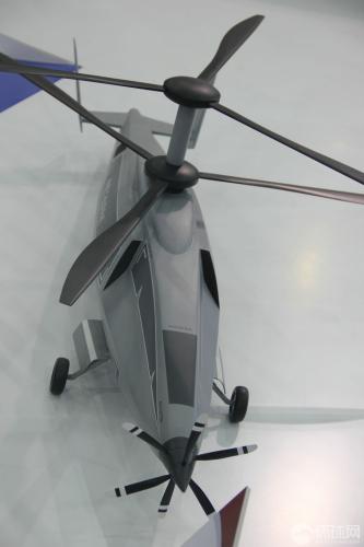 中国新型高速无人直升机披露