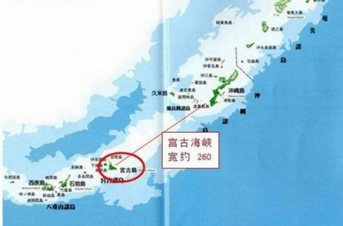 宫古海峡具体地理位置