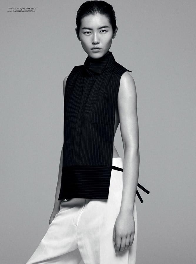 中国模特刘雯