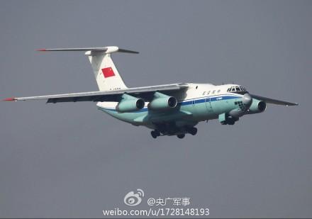 中国空军1架伊尔-76将执行马航飞机搜救任务(图)-中