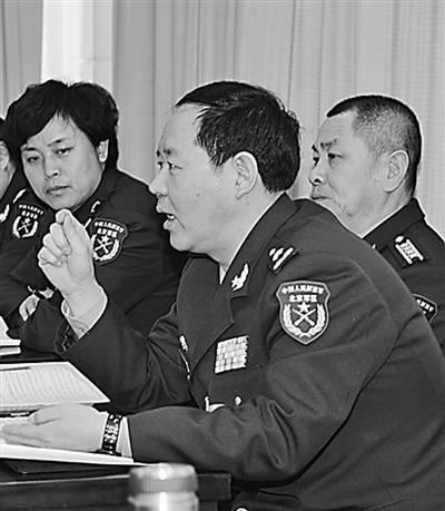 劉振立接替許林平任38集團軍軍長