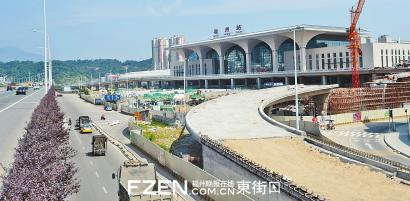 福州火车站北广场主体部分预计8月投入使用(图)图片
