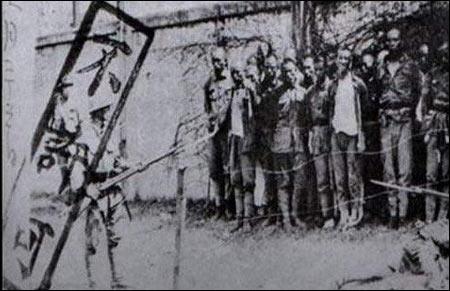 1937年南京大屠杀图片
