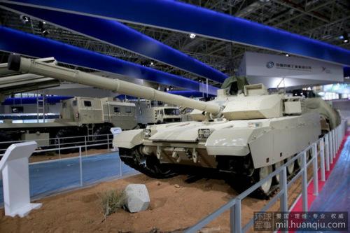 中国最新VT-4主战坦克