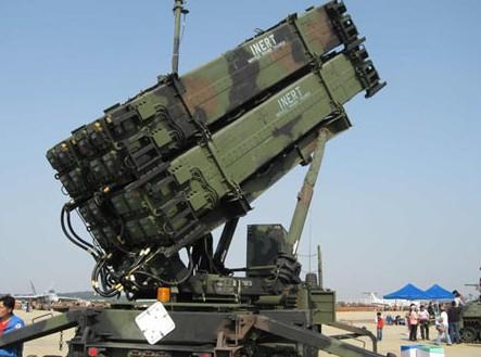 爱国者防空反导系统PAC-3导弹发射车