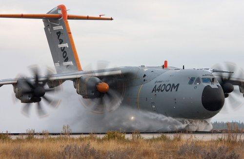 资料图:空客A400M运输机原型机