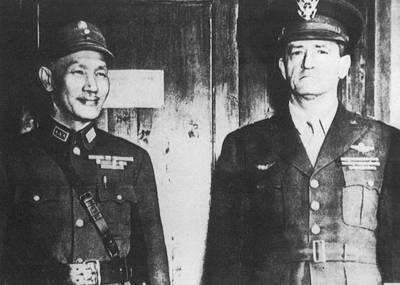 蒋介石与陈纳德