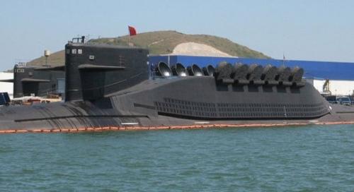 资料图:中国晋级核潜艇