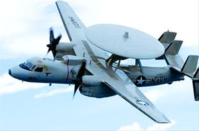 """美国E-2""""鹰眼""""预警机"""