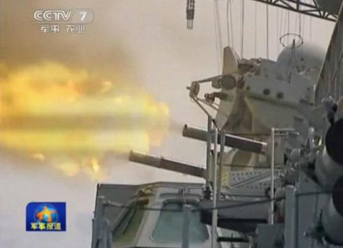 中国海军在该地区两次飞机失事事件上都派出了战舰