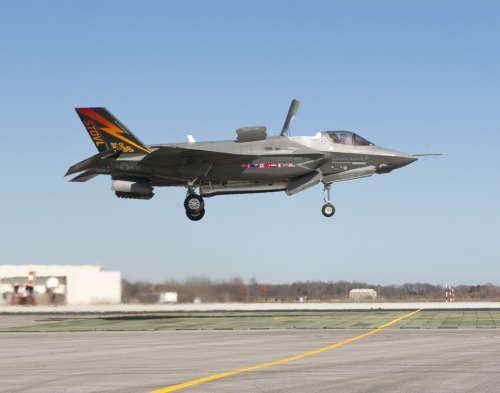 资料图:美国F35战斗机
