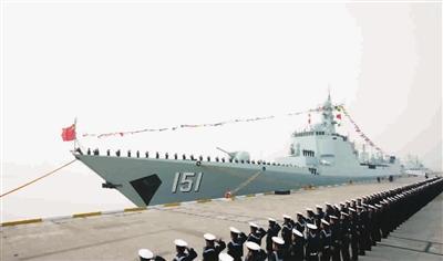 材料图:中华神盾郑州舰
