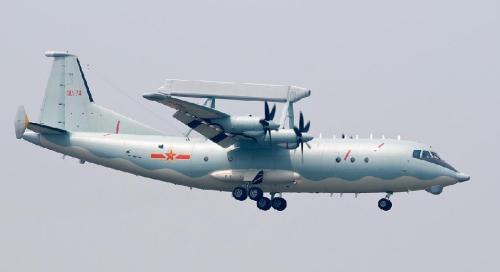 资料图:中国空警200预警机