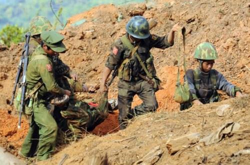 缅北前线战况。