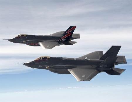 资料图:美国F35战机
