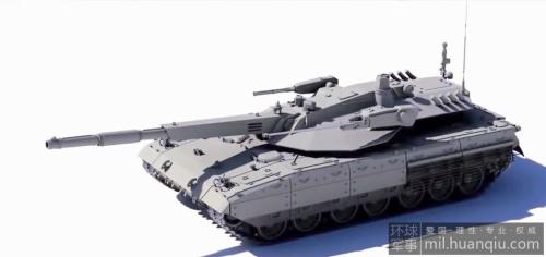 """""""阿玛塔""""(Armata)主战坦克是俄罗斯研制的下一代主战坦克概念,近日,国外媒体公布了该型坦克"""