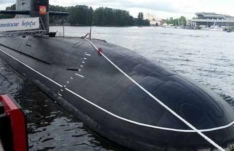 资料图:俄罗斯拉达级潜艇。