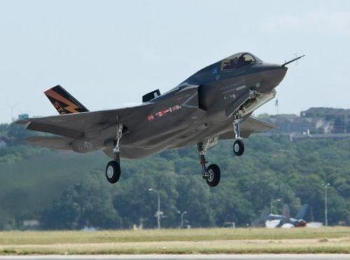 资料图:美国F-35战斗机