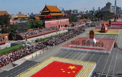 资料图:2009年中国阅兵