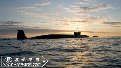 资料图:北风之神级战略核潜艇