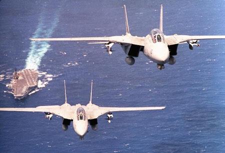 """材料图:F-14""""雄猫""""战争机"""
