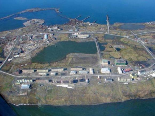 资料图:新地岛核试验场