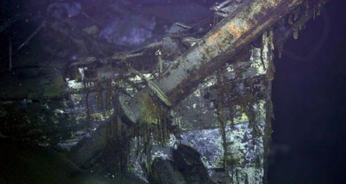 """""""开罗都会号""""客轮在未被发觉前,已在南大西洋中沉船70多年(网页截图)"""