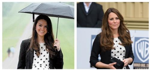 表演凯特王妃,为道格拉丝带来了很多支出。
