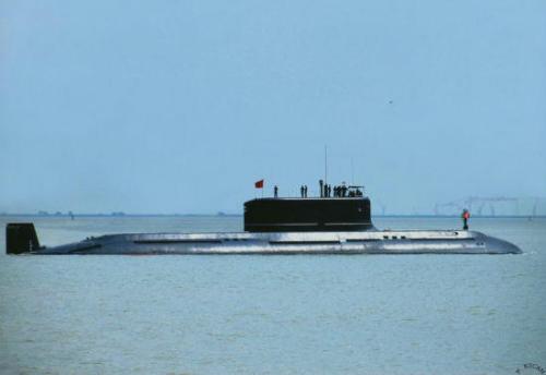 材料图:国家水师改良型元级潜艇。