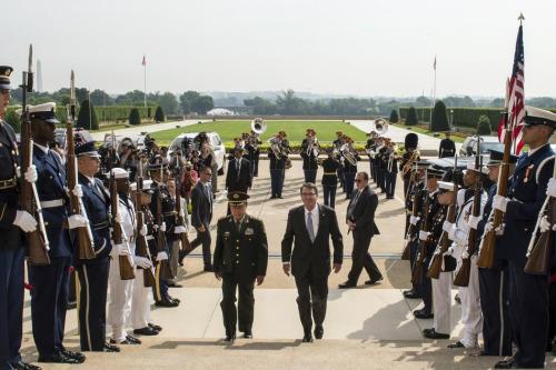 范长龙与美防长会谈 敦促美方减少南海军事活动