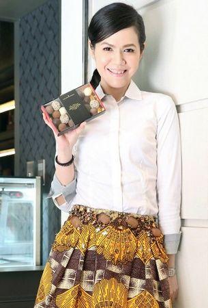 Du Rhone Chocolatier 台湾总署理李坤仪。来历:台湾《结合报》
